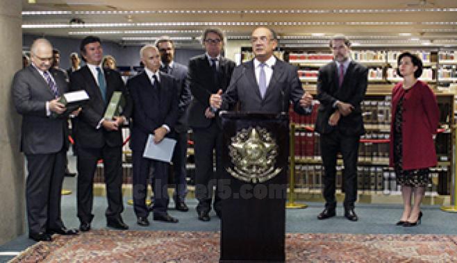 Atuais ministros do stf