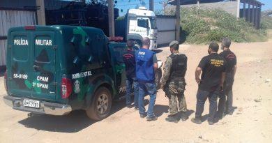 Polícia, MP e Inea fecham depósito de lixo em São João da Barra