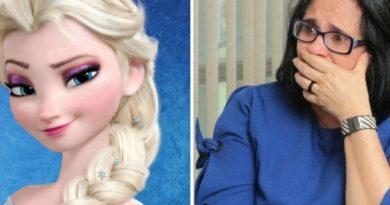 Elsa, de 'Frozen', convida Damares para conhecer seu castelo