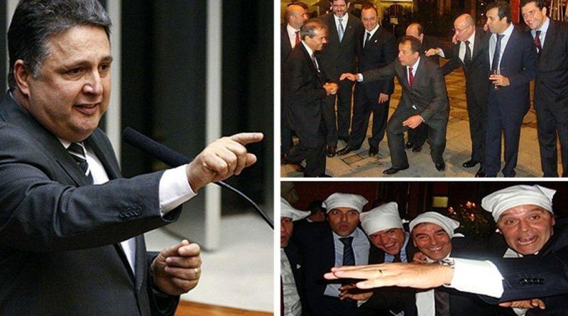"""Sérgio Cabral: """"A foto da gangue dos guardanapos foi muito bem explorada pelo blog do Garotinho"""""""