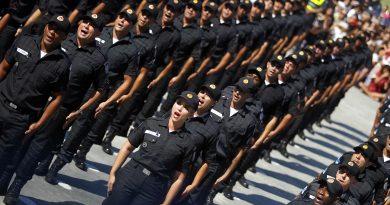 Estado convoca mais 500 futuros policiais militares